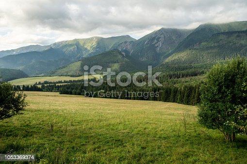 Slovakia Tatra at summer