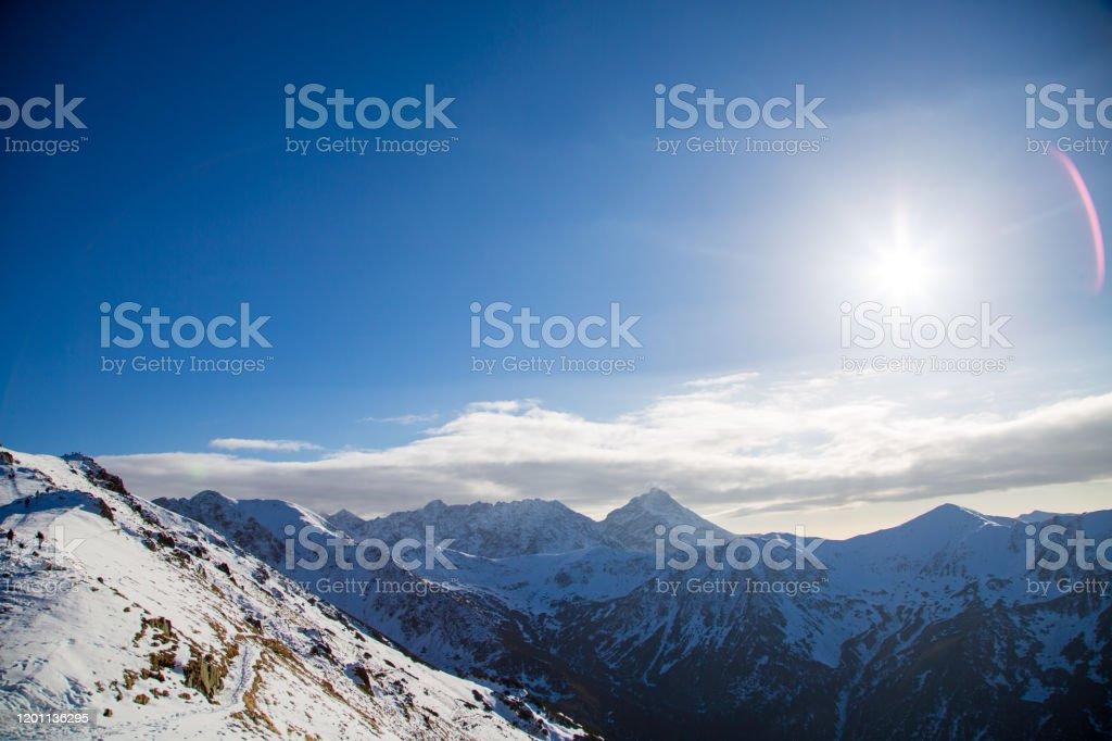 Slowakije Tatra bergen - Royalty-free Alpen Stockfoto