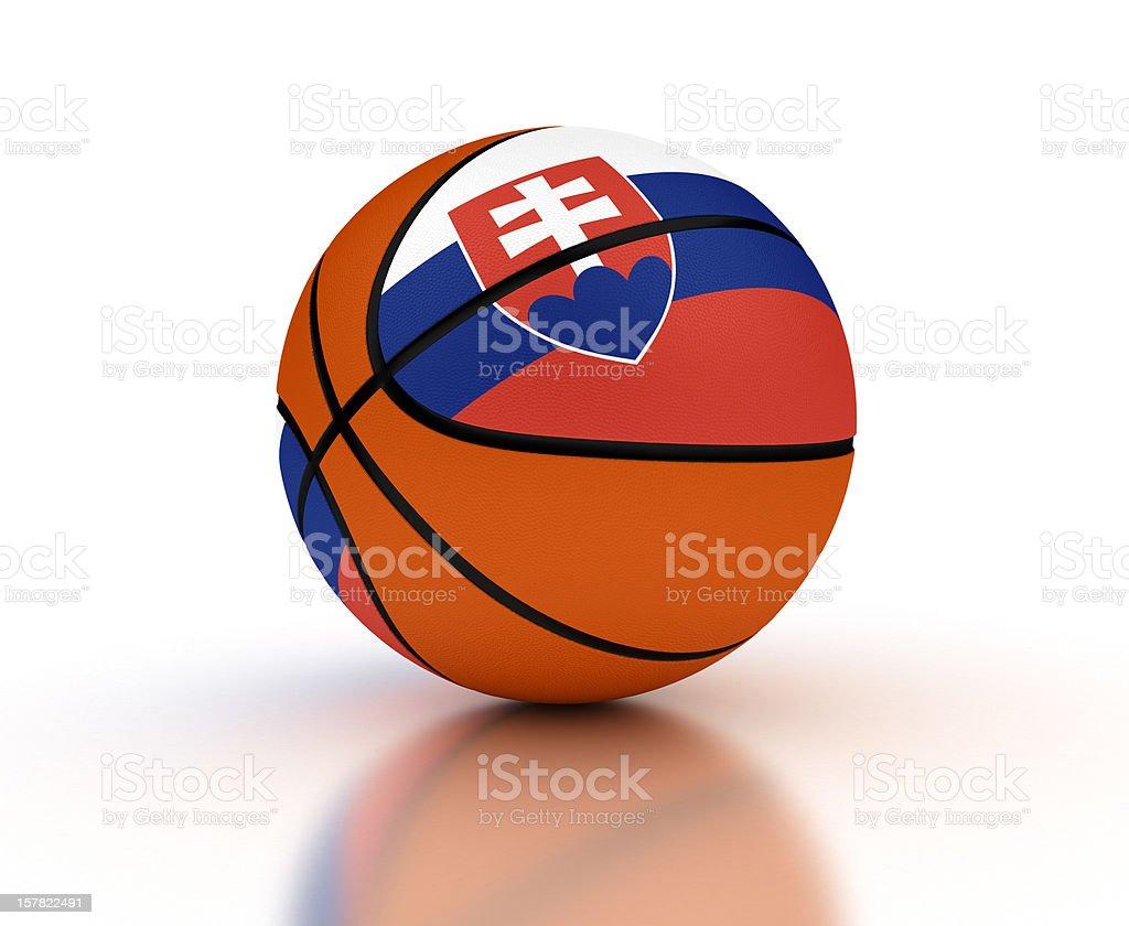 Slovakian Basketball stock photo