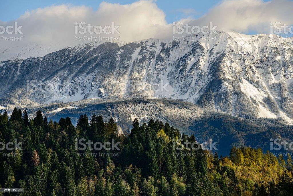 Slovenia Mountain Landscape stock photo