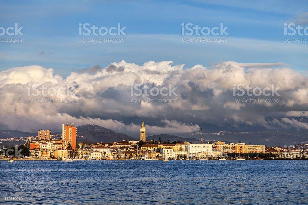 Slovenian coast - Koper stock photo