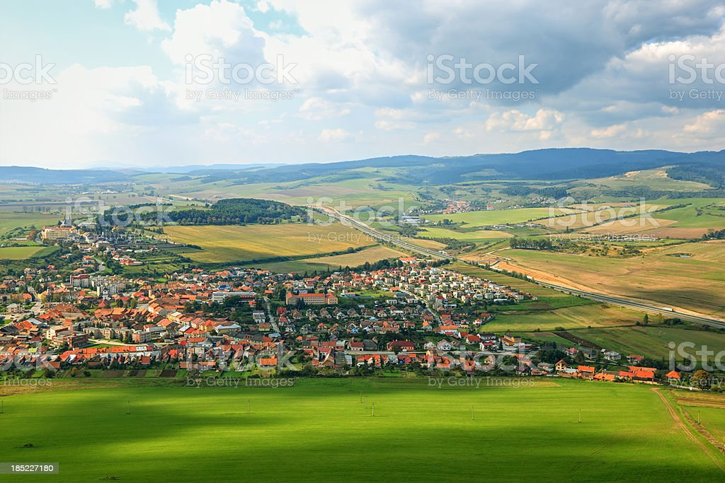 Slovensko Spis royalty-free stock photo