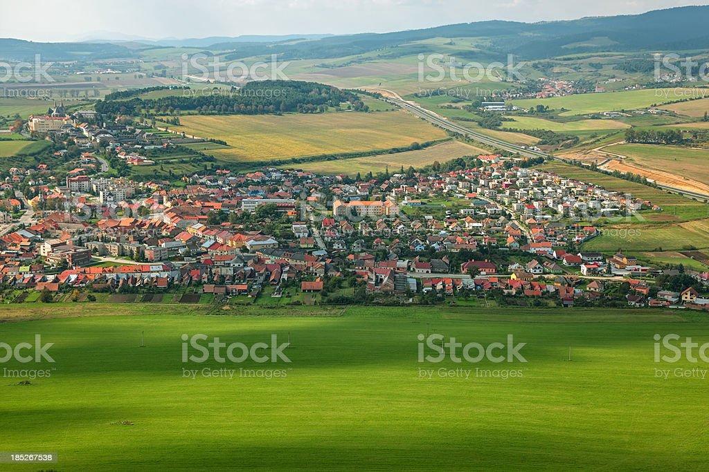 Slovensko Spis stock photo