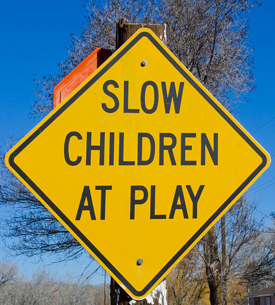 Slow Children At Play Traffic Sign