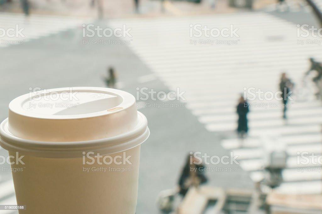 Temps de savourer la vie et, une heure en heure de pointe de la ville - Photo
