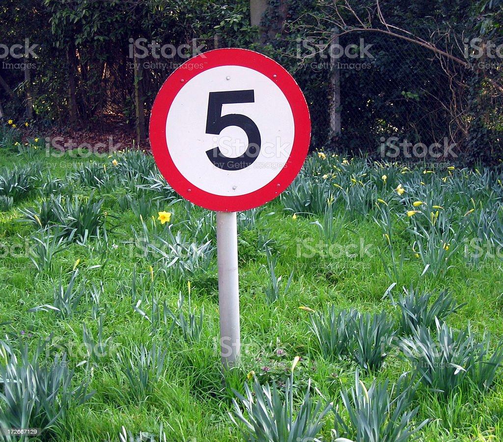 Slow speed royalty-free stock photo