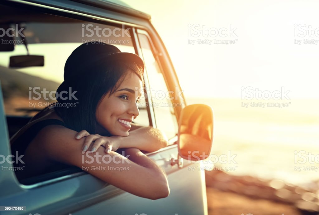 Slowing it down this summer stock photo