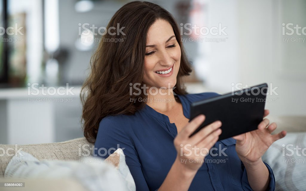 Slowing things down with a couch day stock photo