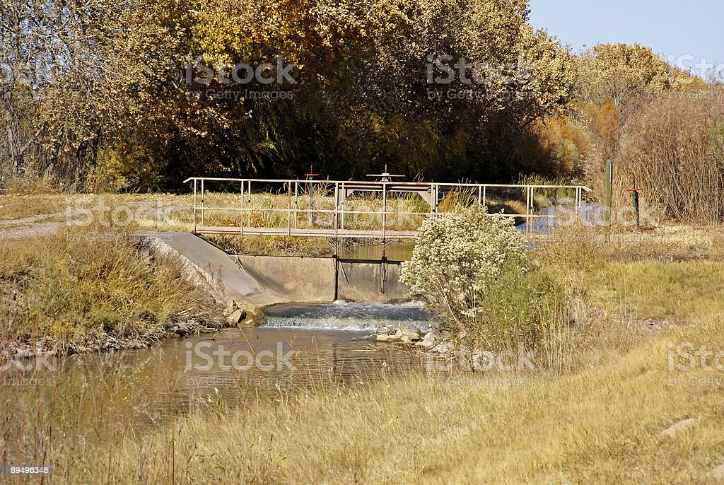 Śluza Gate zbiór zdjęć royalty-free