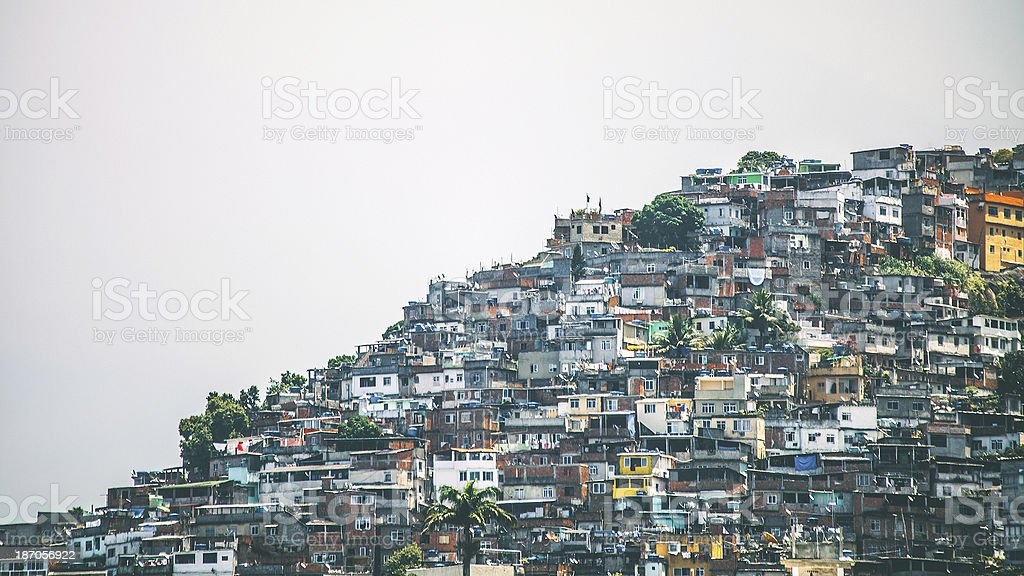 Favela. royalty-free stock photo