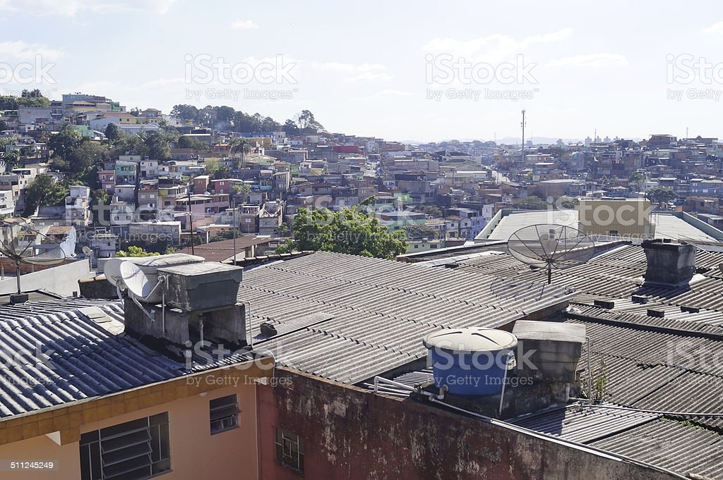Favela! stock photo
