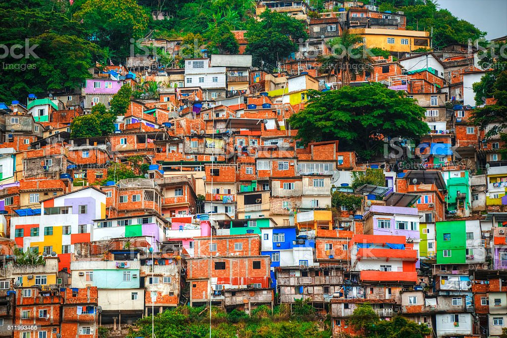 Favela stock photo