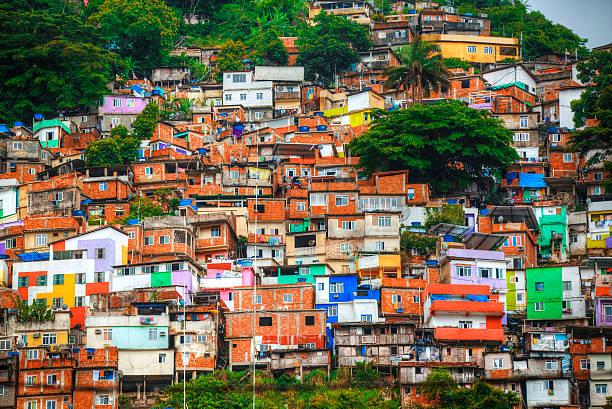 Children Brazil Slum Stock Photos & Children Brazil Slum