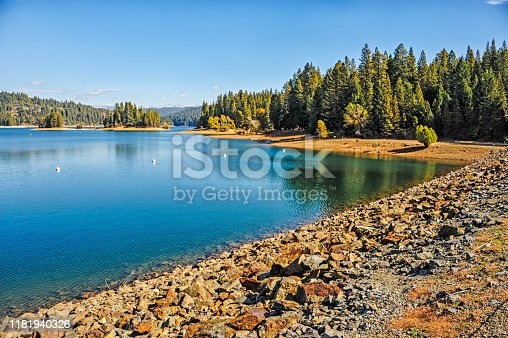 This beautiful lake is part of the Sly Park Recreation Area in Northern California and also the water reservoir providing water for many of the smaller communities of Eldorado County.