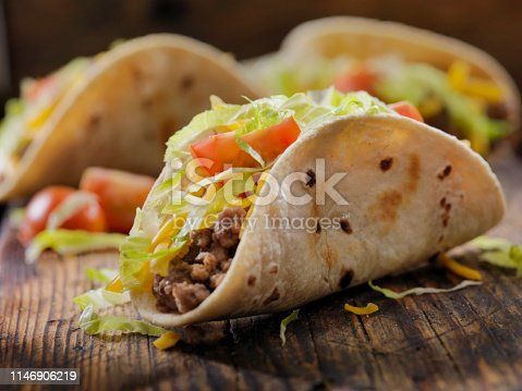 Small 4inch Soft Beef Tacos