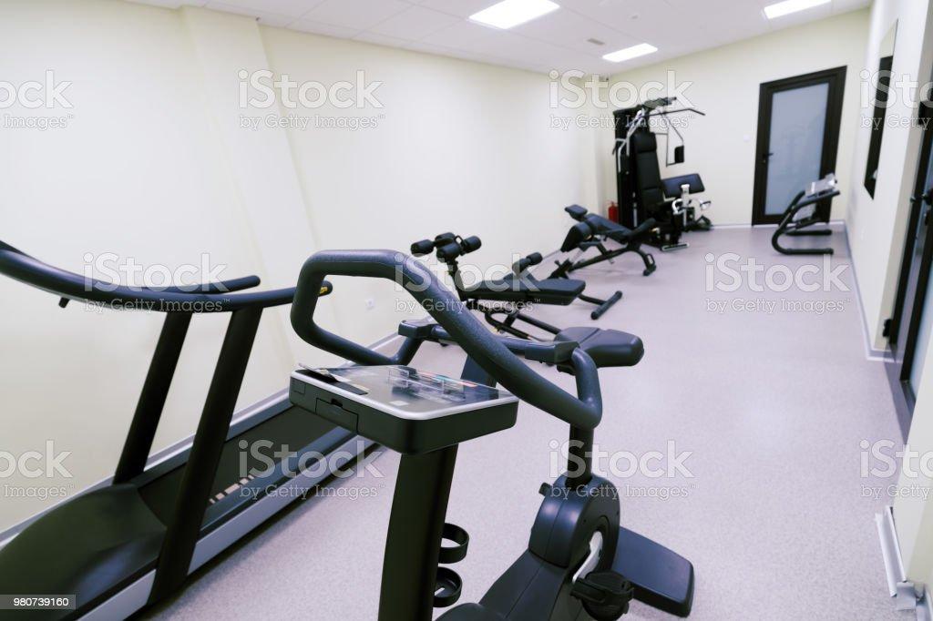 Kleine Günstige Hause Fitnessstudio Stockfoto und mehr ...