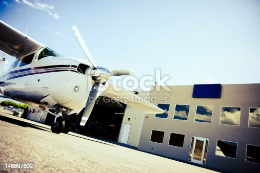 istock small airplane on the tarmac 146867802