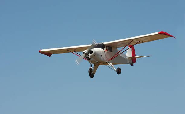 Small Airplane bildbanksfoto