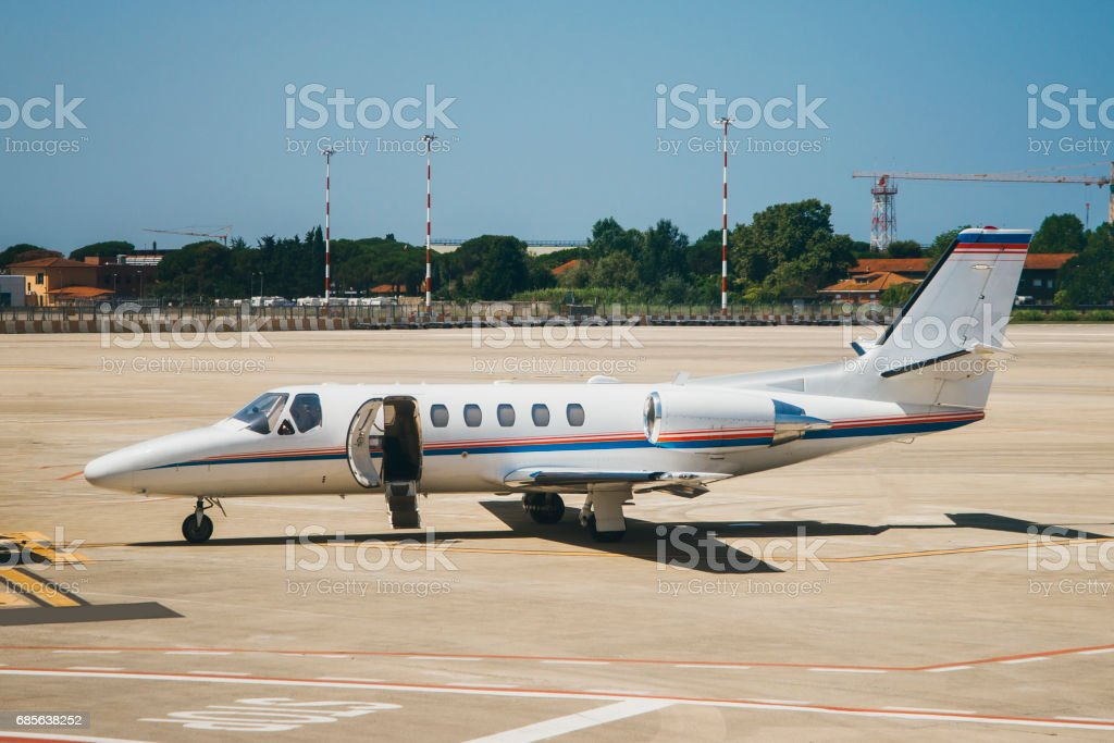Small airplane royalty-free 스톡 사진