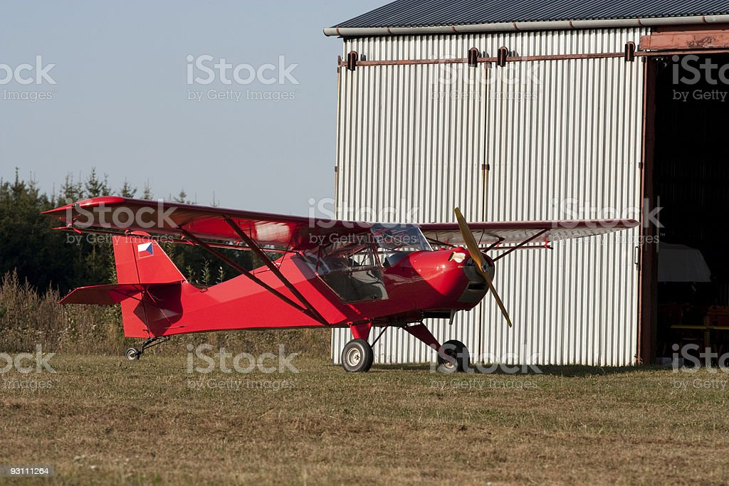 Small airplane royalty-free stock photo