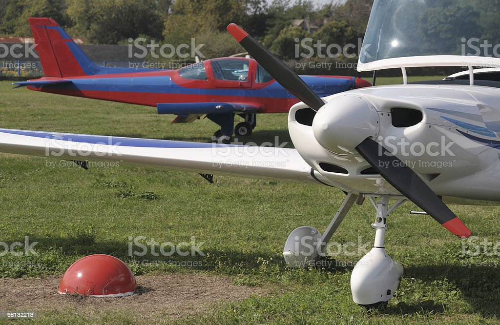 Small airplanes royalty-free stock photo