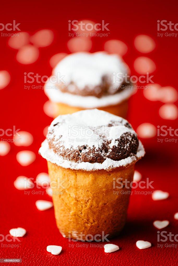 Kleine almond süße Kuchen – Foto