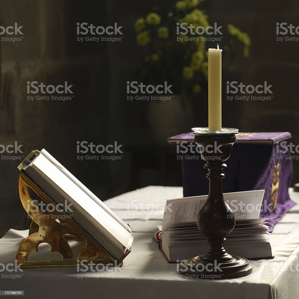 Small Altar royalty-free stock photo