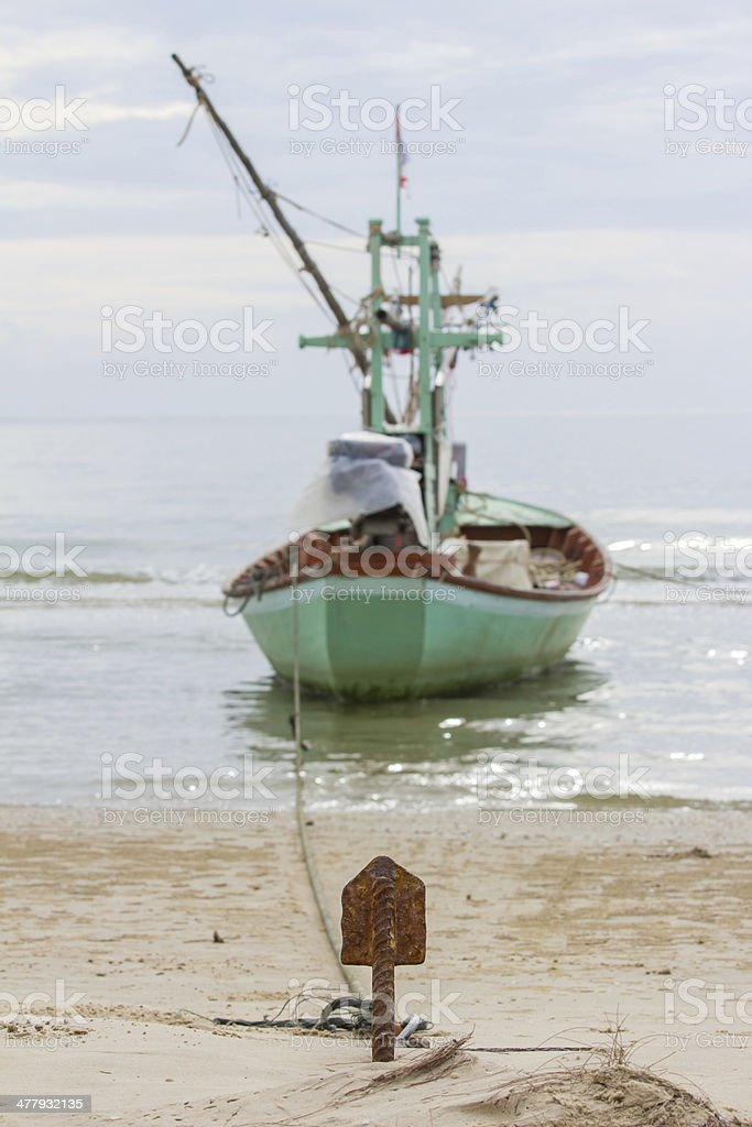 small anchor royalty-free stock photo