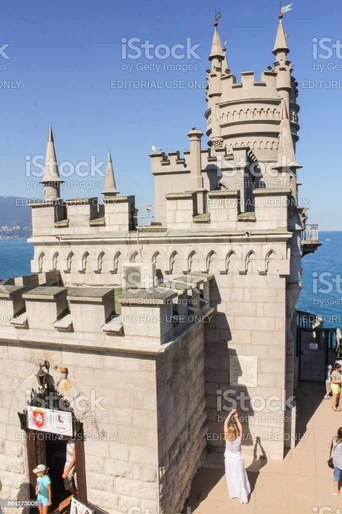 Small ancient castle. royalty-free stock photo