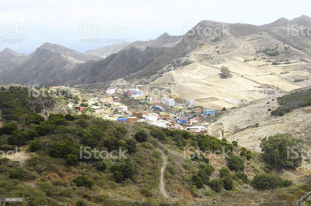 Small Ancient Village royalty-free stock photo