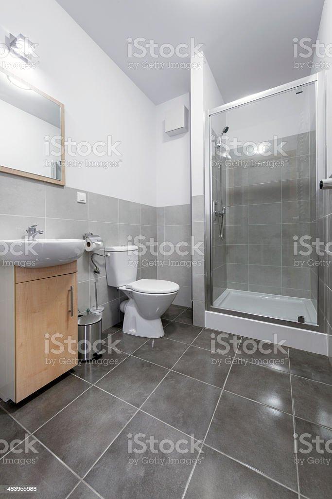 Klein und kompakt interior design im Badezimmer – Foto
