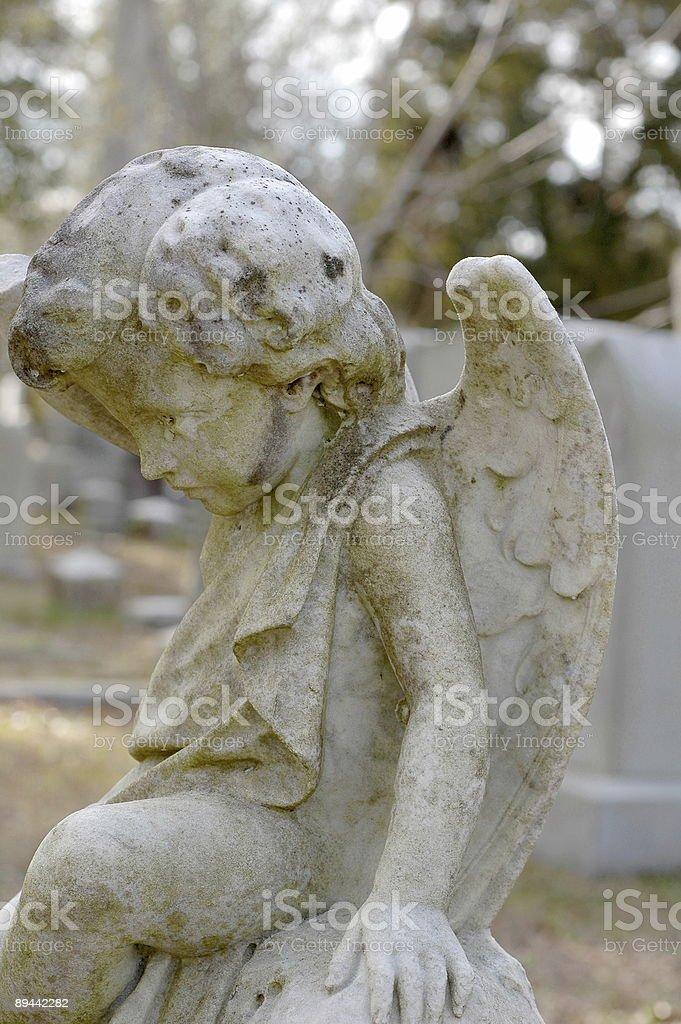 Small angel. royalty free stockfoto