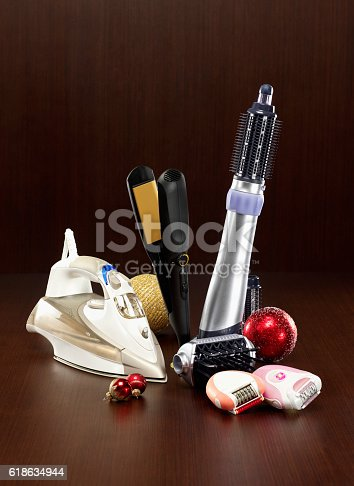 455111881istockphoto Small appliances for christmas present 618634944