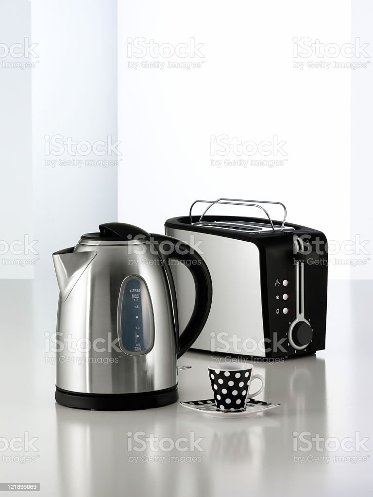 small appliances stock photo