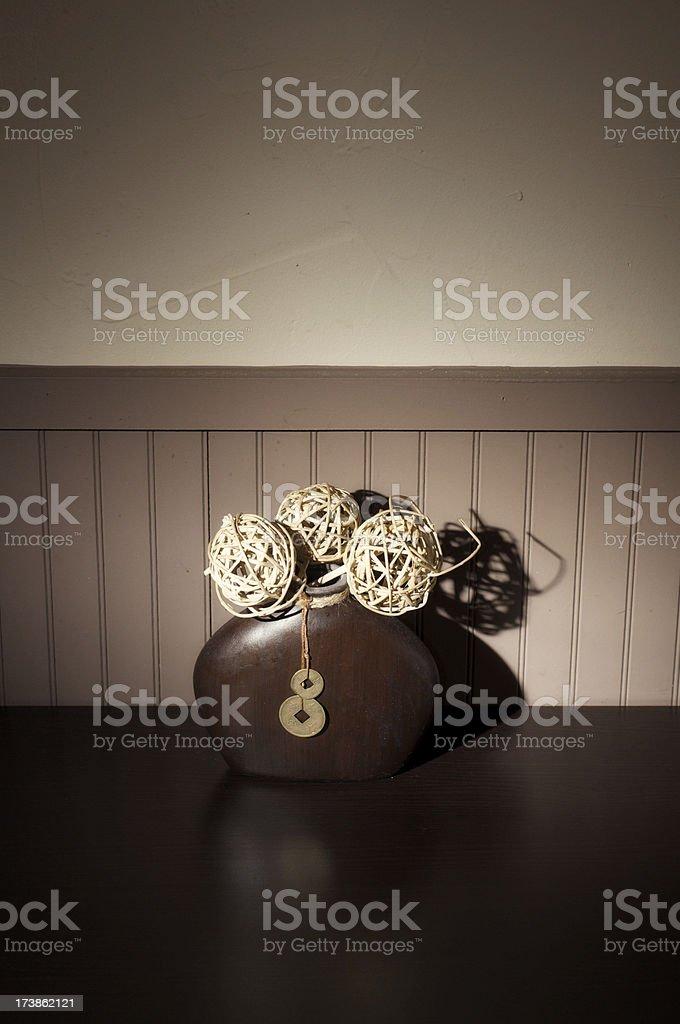 Small asian decoration royalty-free stock photo