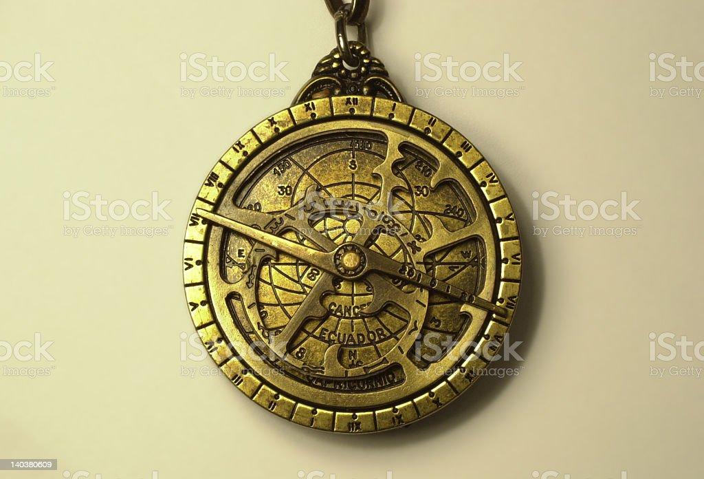 Pequeña astrolabio 1 - foto de stock