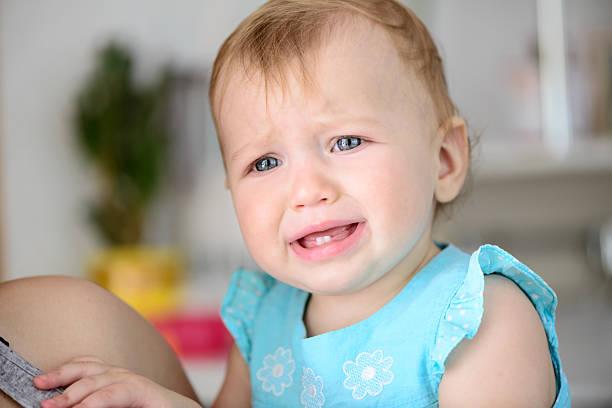 Pequeño bebé Llanto - foto de stock