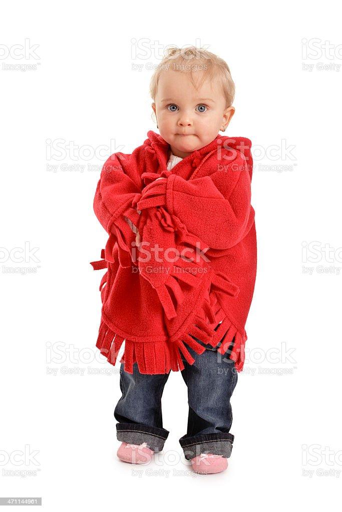 small baby girl royalty-free stock photo