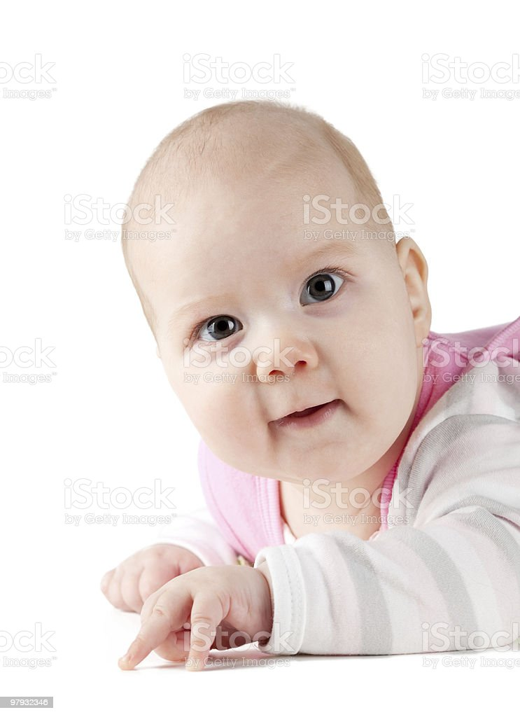 Small baby royalty-free stock photo