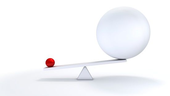 istock Small ball out balance. 182825867