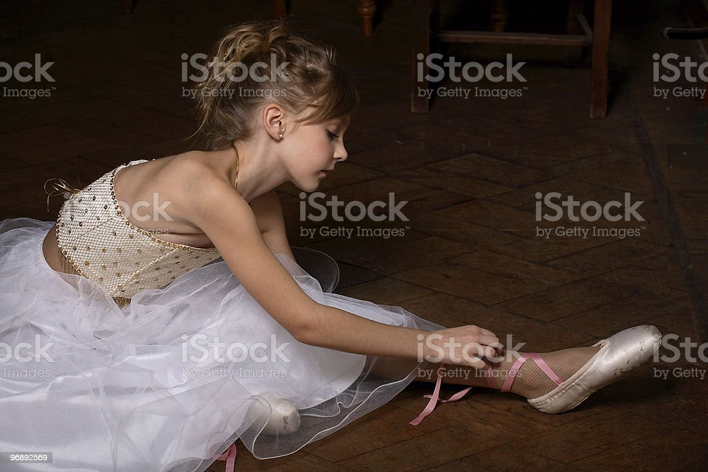 small ballet dancer royalty-free stock photo
