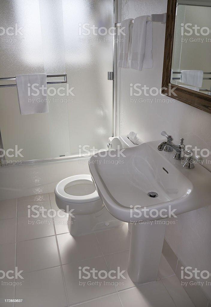 Small Bathroom royalty-free stock photo
