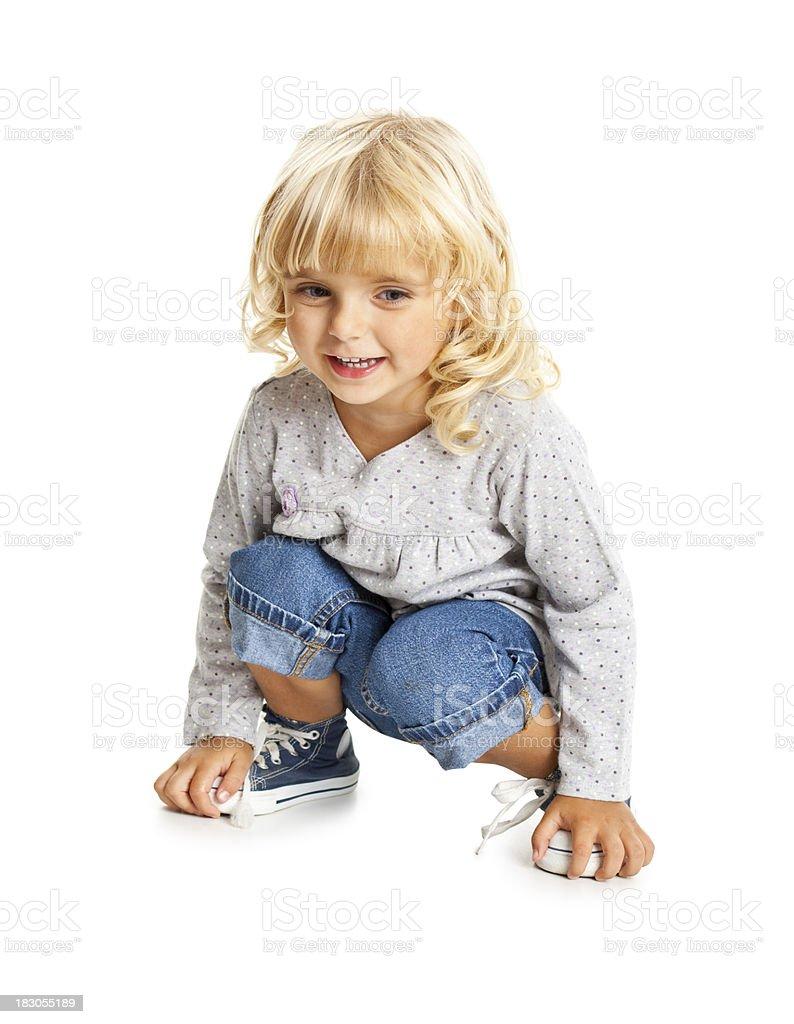 small beauty girl royalty-free stock photo
