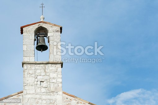 istock Small bell tower 486965010