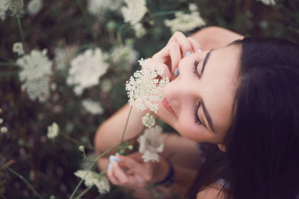 small bits of loveliness - scented stock photos and pictures