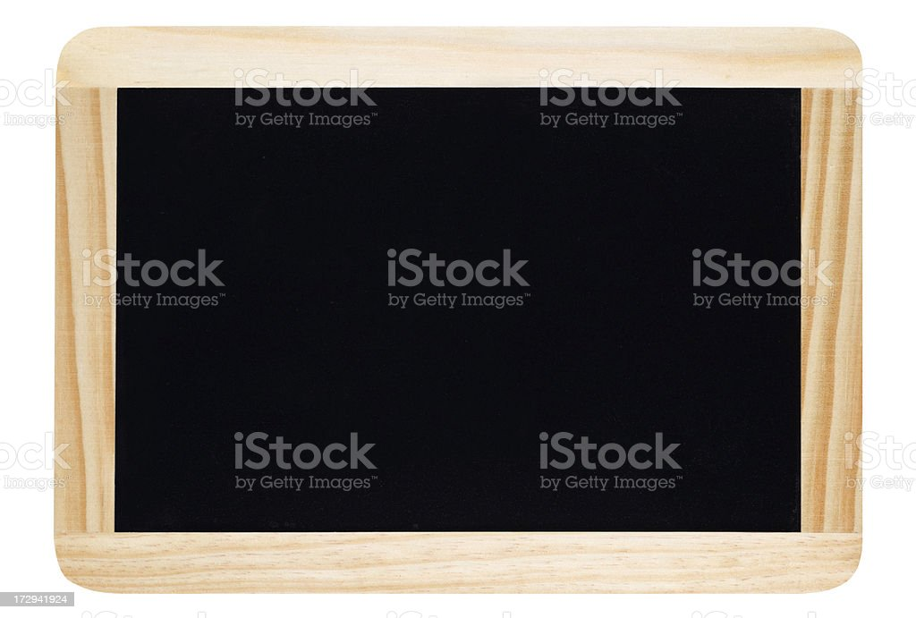 Small blackboard royalty-free stock photo