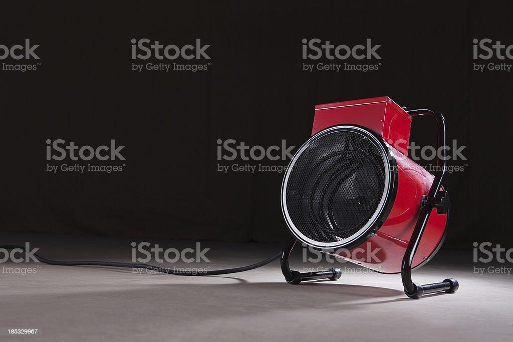 Small Blower Heater stock photo