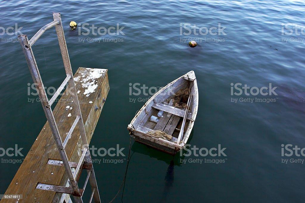 Kleine Boot Lizenzfreies stock-foto