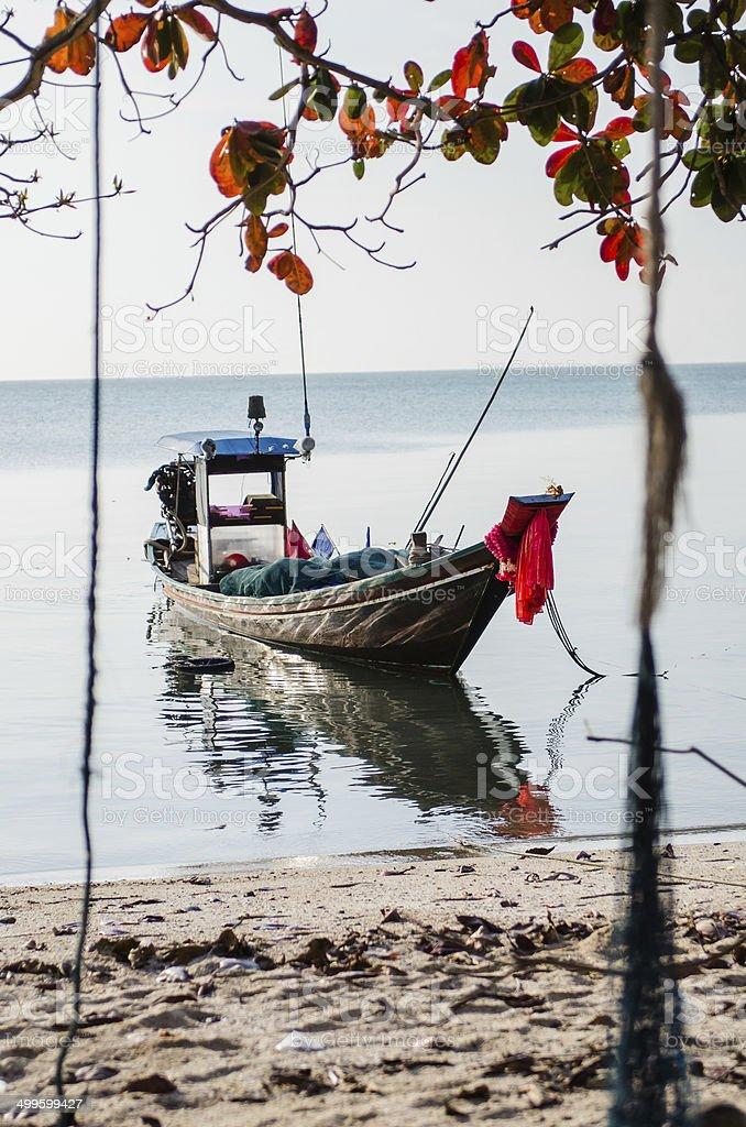 Small Boat Trawler royalty-free stock photo