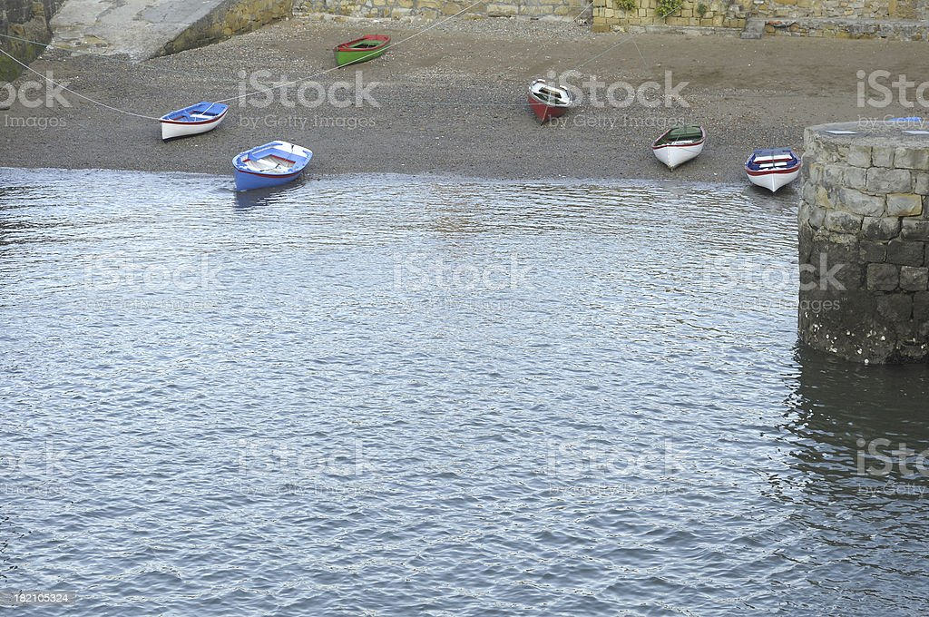Small boats royalty-free stock photo